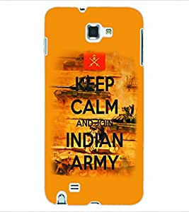ColourCraft Indian Army Back Case Cover for SAMSUNG GALAXY NOTE 1