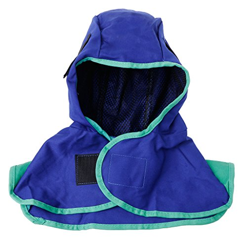 Preisvergleich Produktbild Dabixx Washable Flame Retardant Welding Neck Face Protection Kapuze Schweißerkopfhaube
