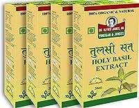 Dr Alfred James UK Natural Organic Tulsi Sat Drops Pure Consists No Artificial Preservatives 20 ML (Pack of 4)