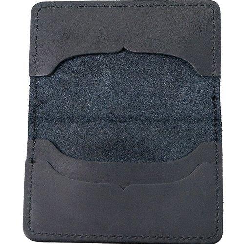 Occidental Leather B309Oxy ™ Card Wallet–Schwarz (Tool Heavy Bag Duty Leather)