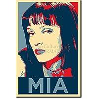 Mia Wallace (lámina basada en el diseño