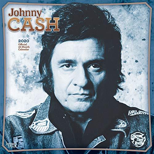 Johnny Cash 2020 - 16-Monatskalender: Original BrownTrout-Kalender [Mehrsprachig] [Kalender] (Wall-Kalender) - Kalender Film