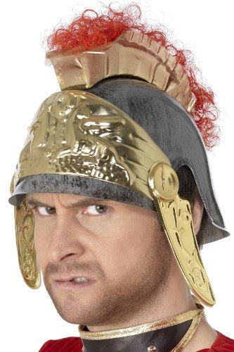 Römer Helm silber-gold (Soldat Römischer Kind Kostüm)