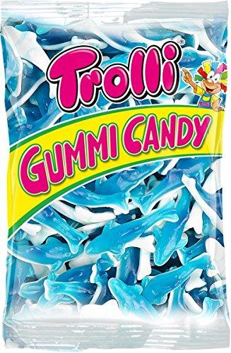 Trolli Haifische Fruchtgummi & Schaumzucker 1 kg