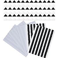510 Piezas Esquinas de Foto Autoadhesivas, Transparente y Negro
