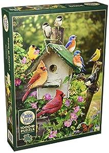 Cobblehill 80126 - Puzle de 1000 Piezas, diseño de casa de pájaros