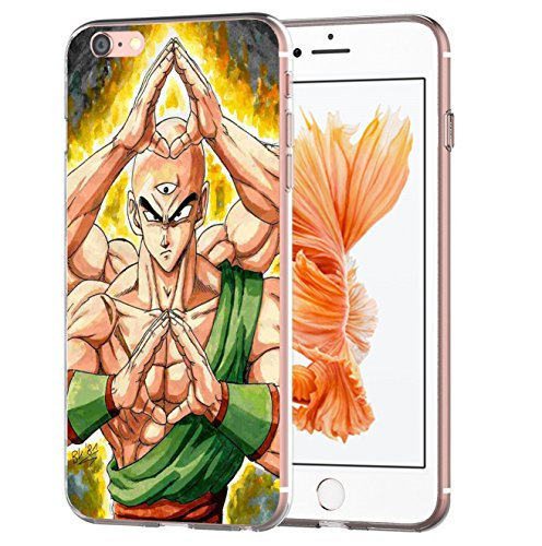 Blitz® DRAGONBALL Schutz Hülle Transparent TPU Cartoon Comic Case iPhone M12 iPhone 5c M14