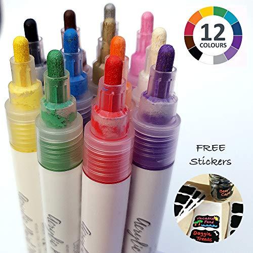 Reviewmeta Com Little Hands Acrylic Paint Marker Pens 12