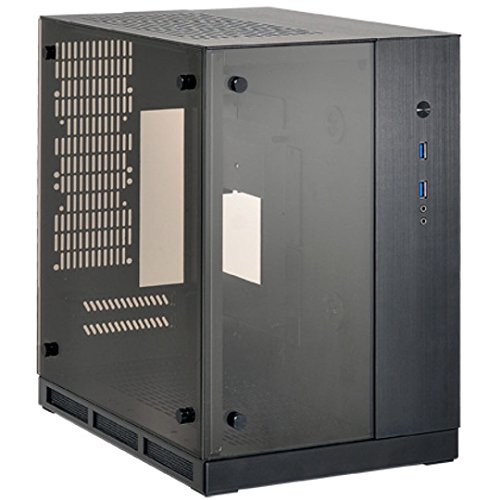 Lian Li PC-Q37 Mini-Tower Nero vane portacomputer