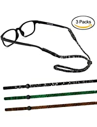 5pcs Sport Occhiali da sole Holder Strap no coda regolabile Eyewear Fermo ADn3T