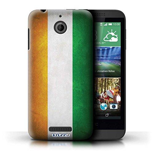 Kobalt® Imprimé Etui / Coque pour HTC Desire 510 / Pays de Galles/gallois conception / Série Drapeau Côte-d'Ivoire