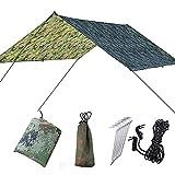 DUBAOBAO Hängemattenzelt, Wasserdichte Hängematte, im Außenbereich überdimensionale Himmel Shade Beach Camping-Zelt, wasserdichtes Tuch feuchtigkeitsdichtes Pad Dreieck Sky