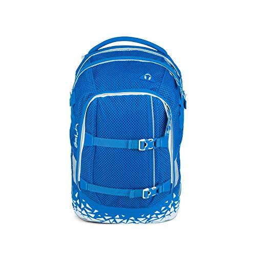 satch Pack ergonomischer Schulrucksack für Mädchen und Jungen - Aqua Meshy
