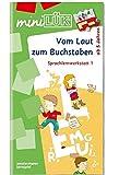 miniLÜK: Vom Laut zum Buchstaben: Sprachlernwerkstatt 1 - Vorübungen zum Lesenlernen für Kinder von 5 - 7 Jahren (Cover Bild kann abweichen)
