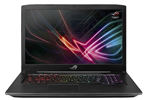 Asus ROG GL703VM-EE099T 43,94 cm (17,3 Zoll mattes FHD) Gaming Notebook (Intel Core i7-7700HQ, 32GB RAM,256GB SSD, 1TB HDD NVIDIA GeForce GTX1060, Win 10) Schwarz
