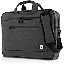 V7 Classic CTPX6-1EC Slim Business Tasche für Notebooks bis 14,1 Zoll (36 cm) grau
