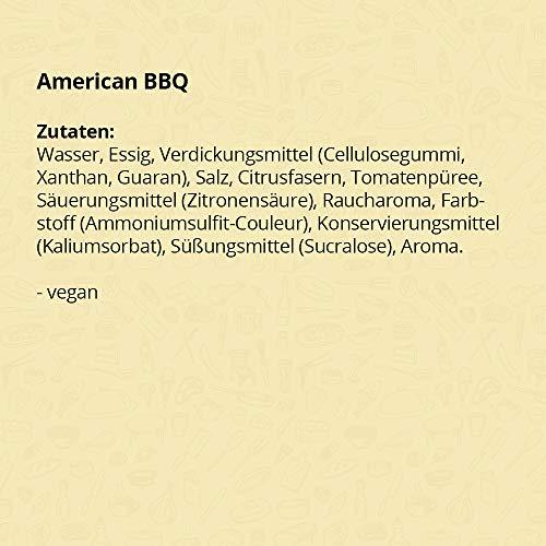 Barbecue Sauce ohne Zucker / BBQ Sauce low carb von Mamma Mia by GymQueen (265ml) - 4