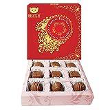 BOGATCHI EID MUBARAK CHOCOLATE BOX, EID CHOCOLATES, IFTAAR SWEETS, DARK CHOCOLATE, RAMZAN GIFTS, 9 PCS