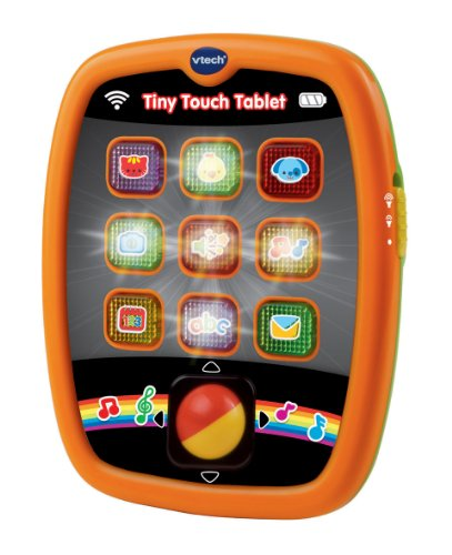 Image of VTech Baby Tiny Touch Tablet (Orange)