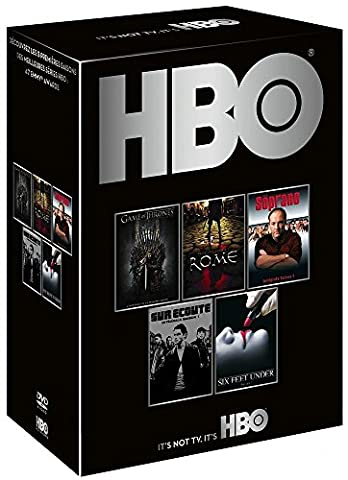 HBO découverte - Saisons 1 - Game of Thrones + The Soprano + Rome + Sur écoute + Six Feet Under (Game Of Thrones Dvd 1-6)