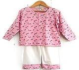 #6: Frangipani Unisex Cotton Pyjama Set