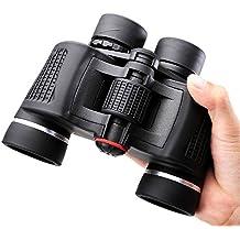 NOCOEX® 8X42 Prismáticos Super-alta potencia Porro Binoculars (Negro)
