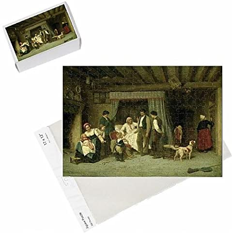 Photo Jigsaw Puzzle of The Final Warning, 1886 (oil on