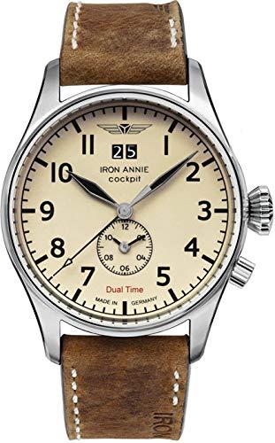Junkers Armbanduhr 5140-5 Herrenuhr