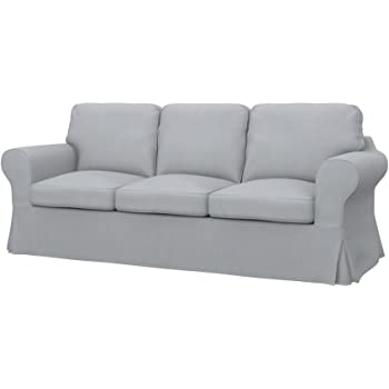 Amazon.de: Unbekannt IKEA EKTORP Sofabezug Nordvalla dunkelgrau; für ...
