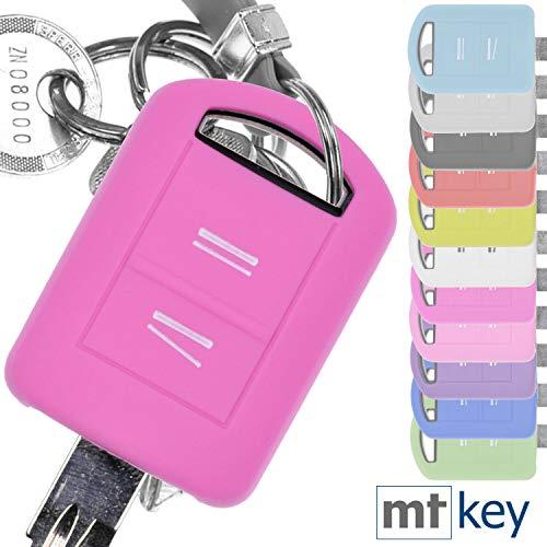 Soft Case Schutz Hülle Auto Schlüssel für Opel Combo C Corsa C Meriva A Tigra TwinTop/Farbe: Rosa