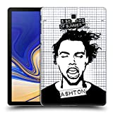 Head Case Designs Offizielle 5 Seconds of Summer Gemasert Ashton Solo Ruckseite Hülle für Samsung Galaxy Tab S4 10.5 (2018)
