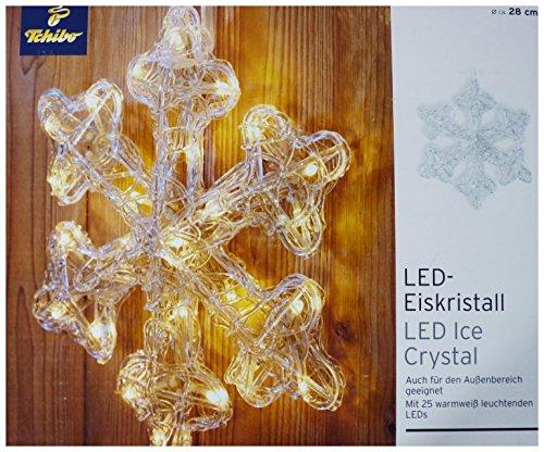 LED-Eiskristall Weihnachtsdekoration für innen und außen