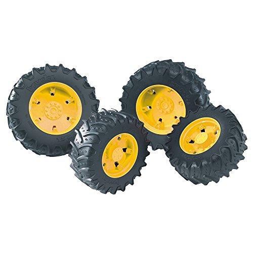 bruder 03314 Zwillingsbereifung mit gelben Felgen, Premium-pro -