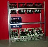 Getränkekistenregal Flaschenregal .TIEF.44cm daher sehr stabil...wie Bild Regalmenge