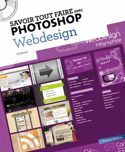 Savoir tout faire avec photoshop Webdesign (1CD)