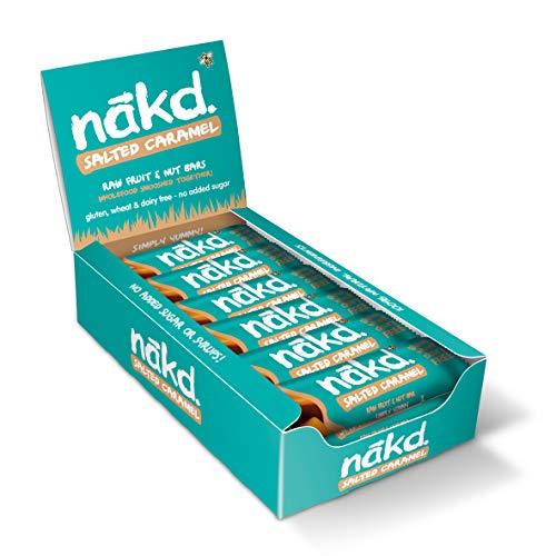 Nakd Fruit and Nut bars (18er Pack) (Salted Caramel) - Bar Caramel