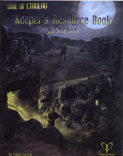 Resource Book: A Trail of Cthulhu Supplement (Pelgrane Press)
