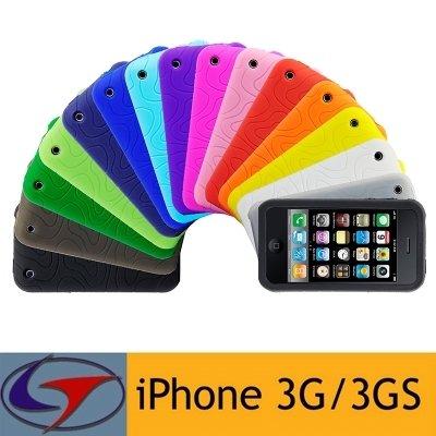 Logotrans Design Series Silikon Tasche für Apple iPhone 3G/3GS hellgrün Hellgrün
