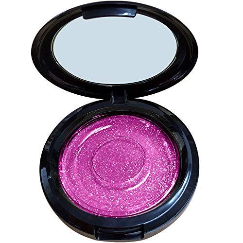 Xshuai Falsche Wimpern Hülle Aufbewahrungsbox Spiegel Wimpern magnetisch und Nicht magnetisch (Hot Rosa)