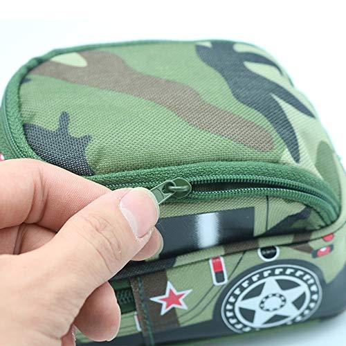 Sacchetto della penna Militare Creativo fuoristrada Camouflage Car Matita Astuccio Matita Astuccio con cerniera Scatola di immagazzinaggio Ragazzo Ragazza Studente Cancelleria multifunzione organizz