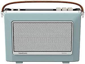 Goodmans 1960's Vintage Style Digital & FM Radio in Sky