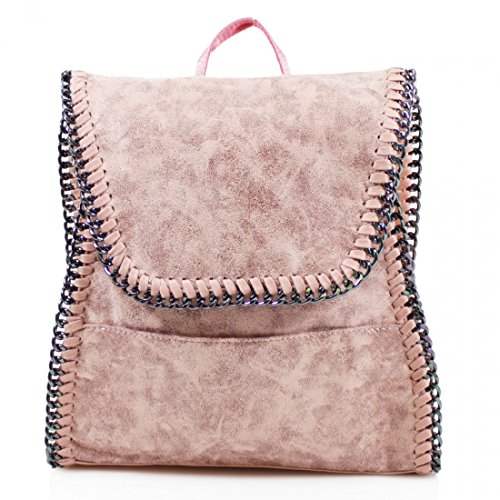 Craze London, Borsa a zainetto donna Pink
