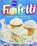 Pillsbury Funfetti Premium Cake & Cupcake Mix With Candy Bits 432g Box