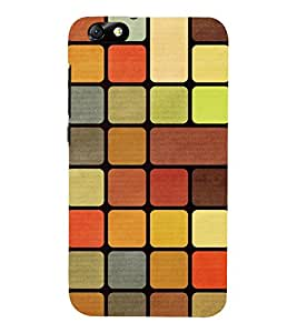 Fuson 3D Designer Mobile Back Case Cover For Huawei Glory Play 4X / Huawei Honor 4X