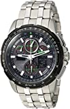 Citizen JY8051 – 59E uomo Skyhawk a-t World Time orologio analogico/digitale