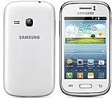 Samsung Galaxy Young S6310 N) - Smartphone Libero Android (Schermo 3.27, Fotocamera 3.2 MP, 4 GB, 1 GHz), Bianco...