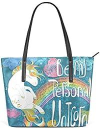 Amazon.es  unicornios - Multicolor   Bolsos de mano   Bolsos para ... dac9cbebbd4af
