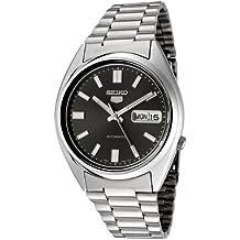 Seiko Reloj Analógico Automático Unisex con Correa de Acero Inoxidable – SNXS79K1