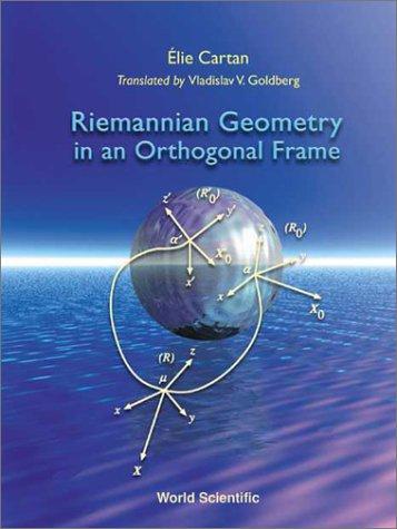 Riemannian Geometry in an Orthogonal Fra