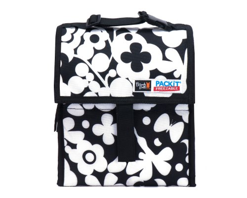 Packit Borsa Termica, Multicolore (Surf Stripe) Nero (Crush)